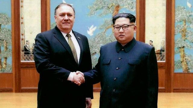 נשיא צפון קוריאה קים ג'ונג און מזכיר המדינה ארה