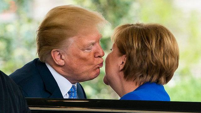 Merkel and Trump meet at the White House (Photo: EPA)