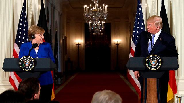 German Chancellor Angela Merkel, American President Donald Trump (Photo: AP)