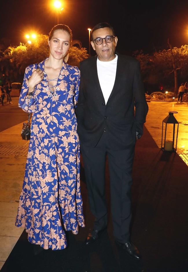 כבר בלי בטן. ג'נ צ'רוואני ורוני מאנה (צילום: אמיר מאירי)
