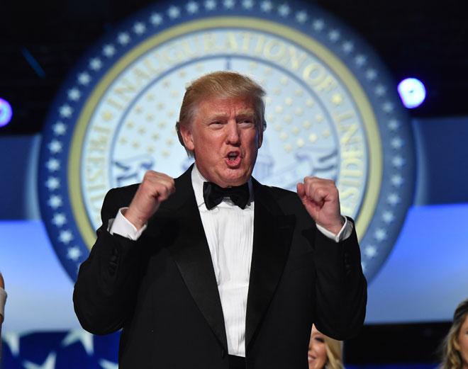 הנשיא הנוכחי. למה שאמריקה תתערב בבעיות של מדינות אחרות? (צילום: Kevin Dietsch/GettyImagesIL)