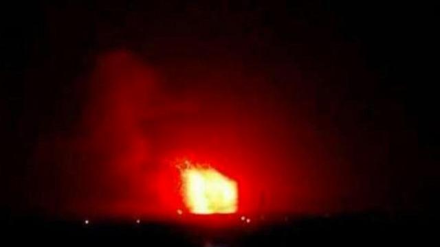 תקיפת בסיס צבאי בסוריה ()