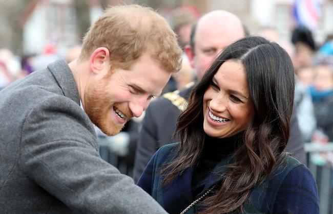 תזמינו אותו לקנזינגטון? הנסיך הארי ומייגן מרקל (צילום: Gettyimages)