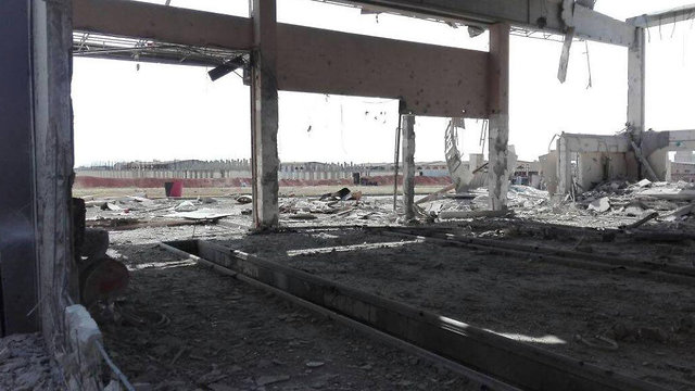 יעדים שהותקפו בחלב סוריה ()