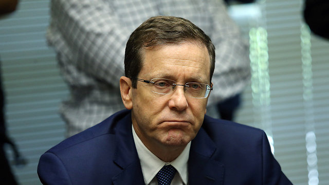 Opposition Chairman Herzog said it was 'insulting' for a criminal investigation to be opened into a visit to Israel (Photo: Alex Kolomoisky)