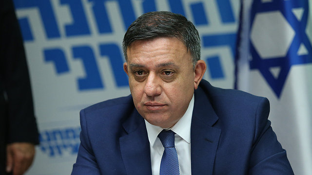 Zionist Union chief Gabbay compared his democratic party with the the party will to 'forsake all values to stay in power' (Photo: Alex Kolomoisky)