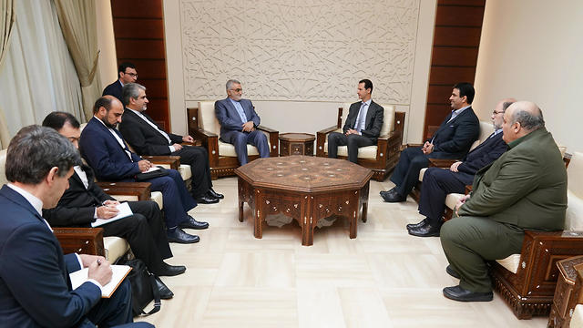 Boroujerdi was accompanied by a delegation of Iranian parliamentarians (Photo: EPA)