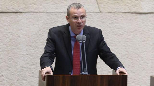 Tourism Minister Levin said Israel will take a stand against all those who 'seek to annihilate it' (Photo: Yitzhak Harari, Knesset spokesmanship)