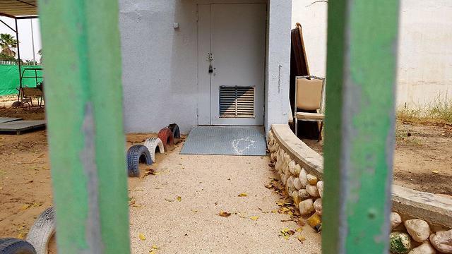 מקלטים ציבוריים בבאר שבע (צילום: רועי עידן)