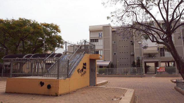 מקלטים ציבוריים בנתניה (צילום: עידו ארז)