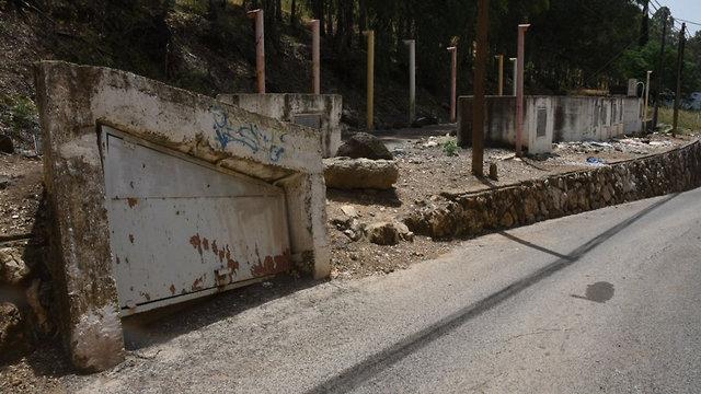 Общественное бомбоубежище в Кирьят-Шмоне. Фото: Авигу Шапира