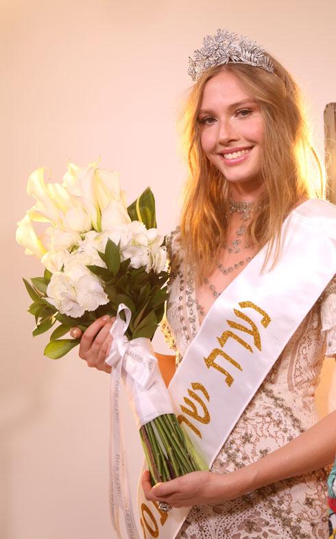 הגיעה לתחרות בספונטניות. נערת ישראל לשנת 2018 מיכל מורדוב (צילום: ששון משה)