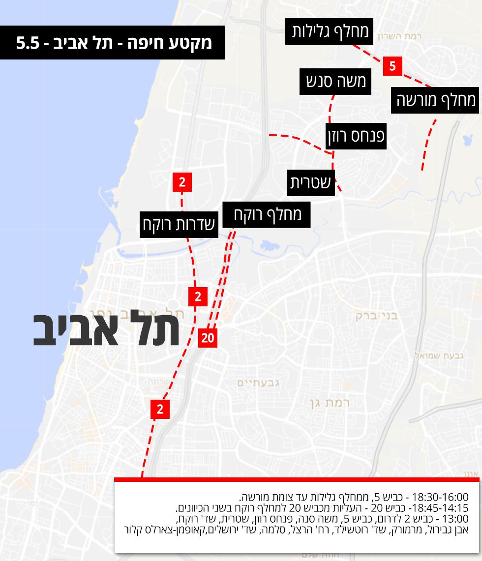 אינפו גרפיקה מפה מירוץ אופניים ג'ירו דאיטליה תל אביב ישראל  ()