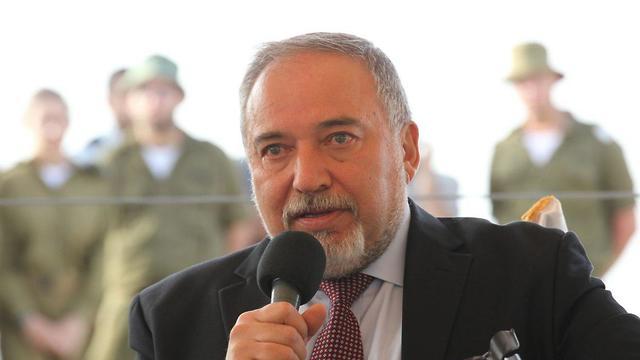Defense Minister Lieberman (Photo: TPS)