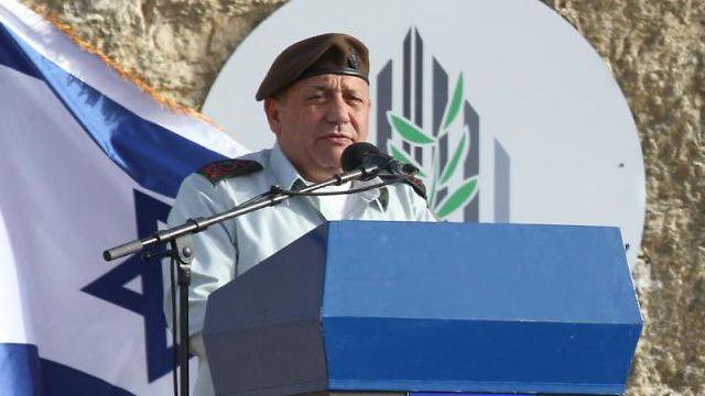 IDF chief Eisenkot (Photo: TPS)