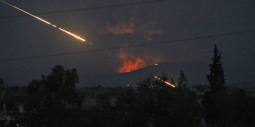 Attack on Iranian base in Syria (Photo: Getty Images)