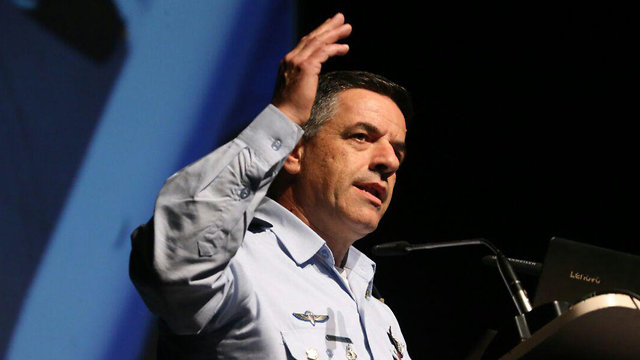 IAF Commander Norkin confirmed Israel used an F-35 stealth fighter in one of its strikes (Photo: Motti Kimchi)