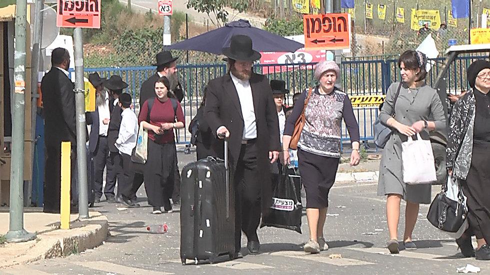 מתכוננים להילולה הגדולה בישראל (צילום: אלי מנדלבאום)