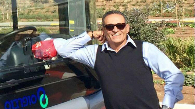 שמעון גבאי נהג אוטובוס ש נדקר דקירה ב מהלך נסיעה ב עפולה (צילום: באדיבות ההמשפחה)