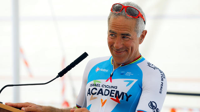 Israel Cycling Academy co-owner Sylvan Adams was responsible for bringing the Giro to Israel (Photo: Reuters)
