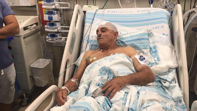 שמעון גבאי נהג אוטובוס ש נדקר דקירה ב מהלך נסיעה ב עפולה ב בית חולים רמב