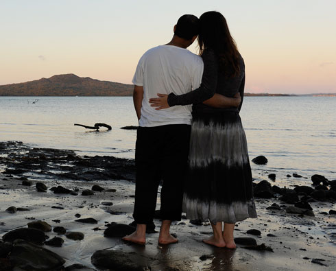"""""""לא התחתנו בצורה שבה חלמנו להתחתן"""" (צילום: דפנה קפלן)"""