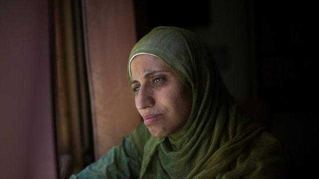 דארין טאטור משוררת ערבייה מוסלמית הסתה ל אלימות תמיכה ב ארגון טרור  (צילום:תומר הרפז)