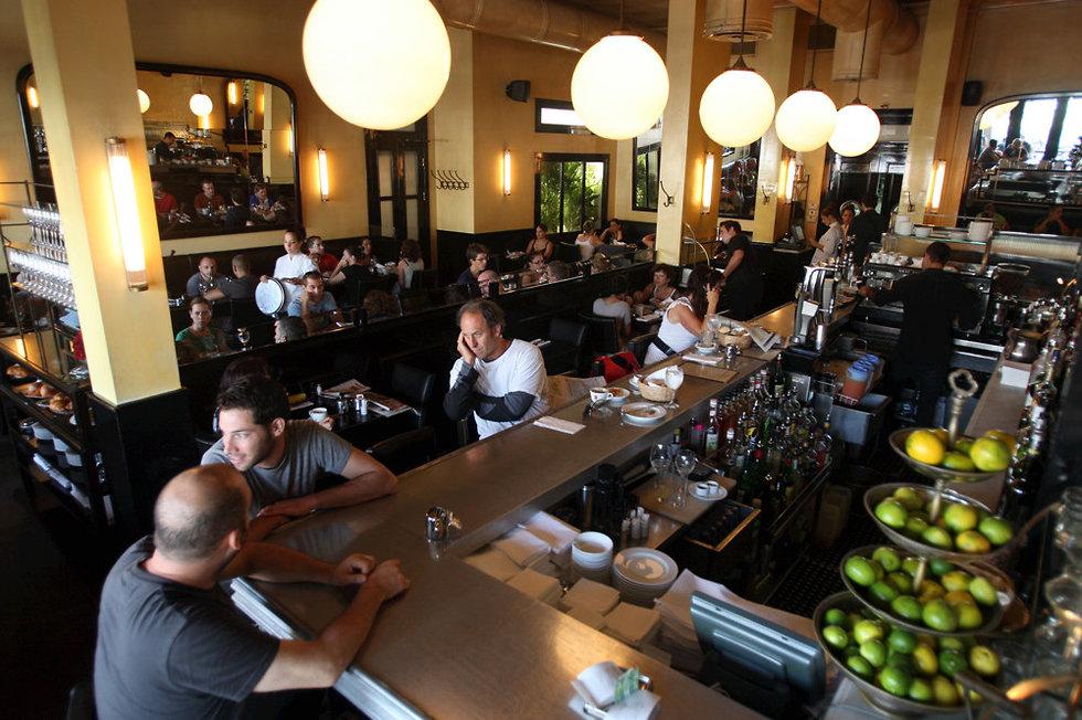מסעדת בראסרי תל אביב (צילום: עמית מגל)