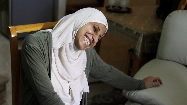 דארין טאטור משוררת ערבייה מוסלמית הסתה ל אלימות תמיכה ב ארגון טרור  (צילום: רויטרס)
