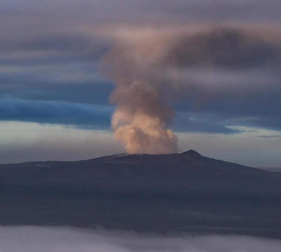הר הגעש בהוואי התפרץ (צילום: EPA)