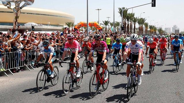 The race in Haifa (Photo: AFP)