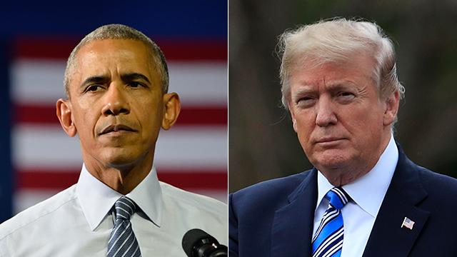 דונלד טראמפ וברק אובמה (צילום: AP, shutterstock)