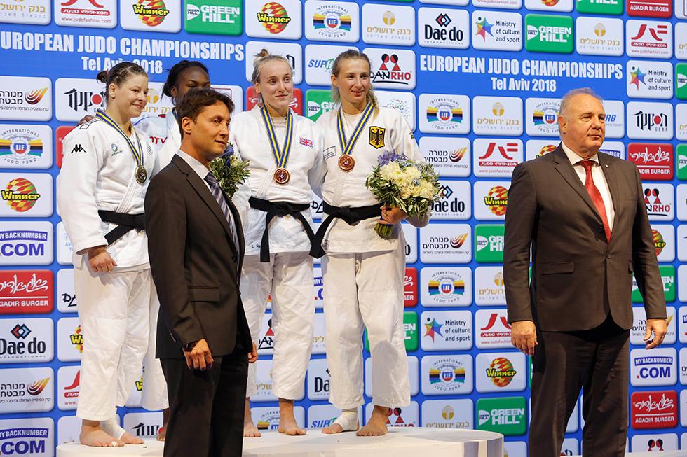 נעילת אליפות אירופה בג'ודו (צילום: ניר כפרי)