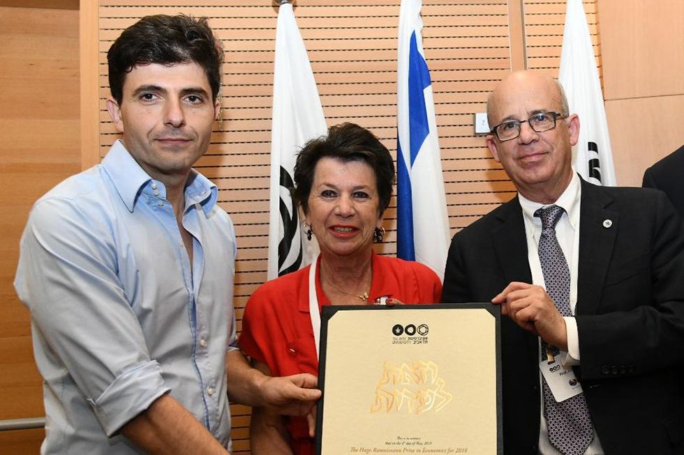 דייב וייסר, מוניק בראל (צילום: ישראל הדרי)