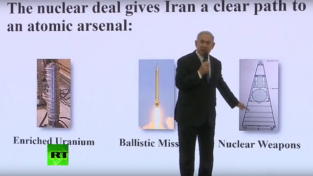 Benjamin Netanyahu reveals Israel has Iranian nuclear documents