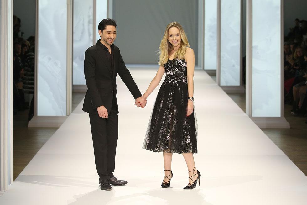"""מעצבת האופנה תמרה ראלף ומייקל רוסו, המשמש כמנכ""""ל החברה, נפגשו במקרה ברחוב בלונדון והפכו לזוג ולשותפים עסקיים (צילום: Richard Bord/GettyimagesIL)"""
