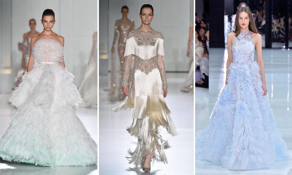בית האופנה עשה היסטוריה כשהפך למותג הבריטי הראשון שנבחר להציג בשבוע ההוט קוטור הפריזאי כחלק מלוח התצוגות הרשמי  (צילום: GettyimagesIL)