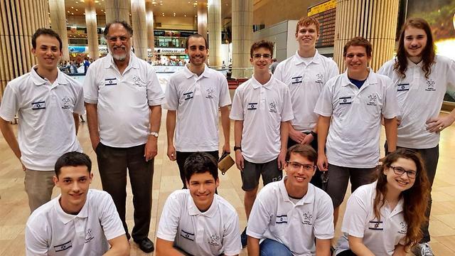 נבחרת המדעים (צילום: יח