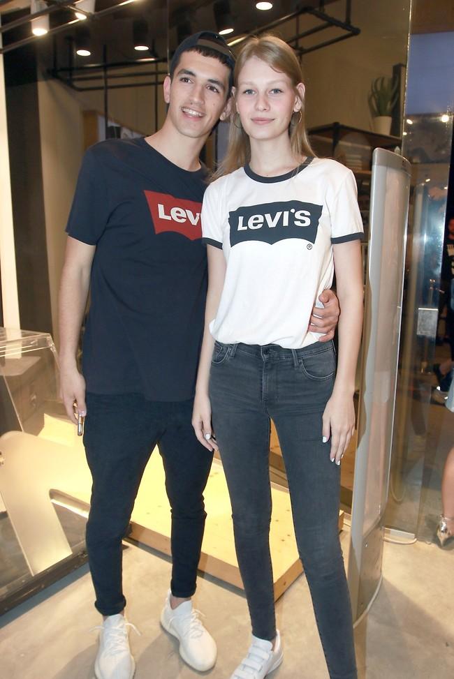 יפים וצעירים. סופיה מצטנר ותומר טליאס (צילום: ענת מוסברג)