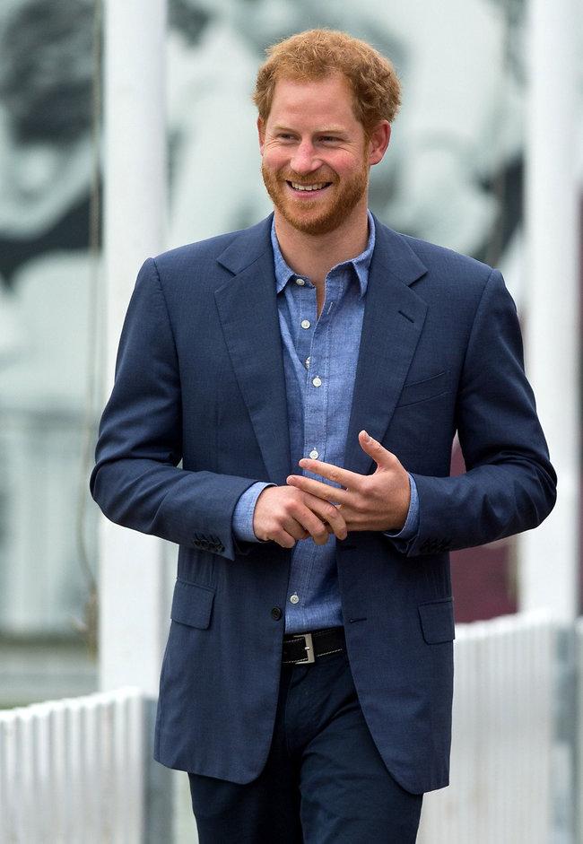 נסיך וג'נטלמן. הנסיך הארי (צילום: Gettyimages)