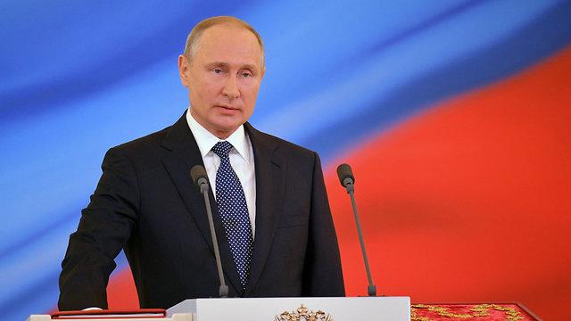 נשיא רוסיה ולדימיר פוטין (צילום: EPA)