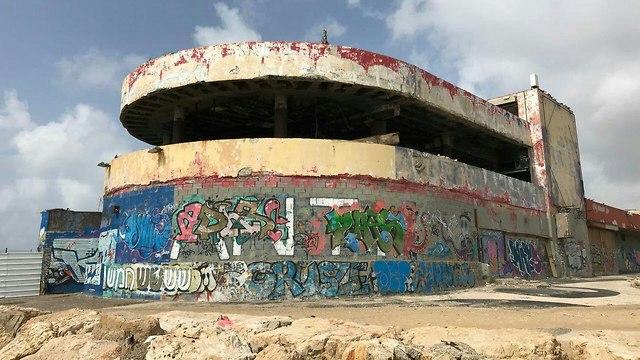 """Здание """"Дельфинариума"""" в настоящее время. Фото: Моти Кимхи"""