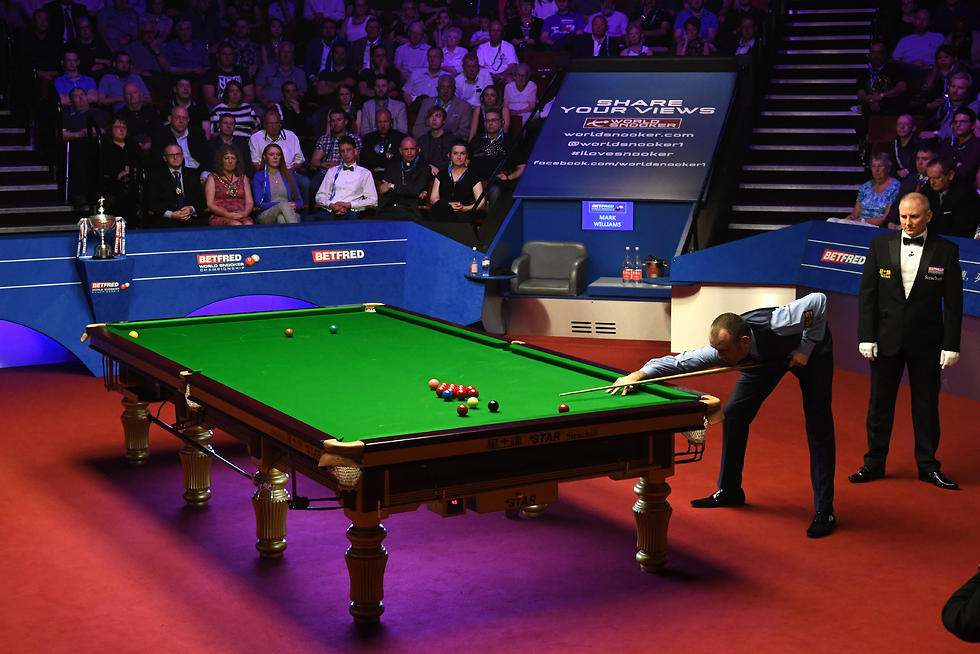 אליפות העולם סנוקר  (צילום: AFP)