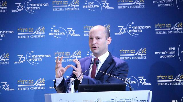 Education Minister Bennett told foreign diplomats Israel will not repeat the mistakes of the past (Photo: Motti Kimchi)