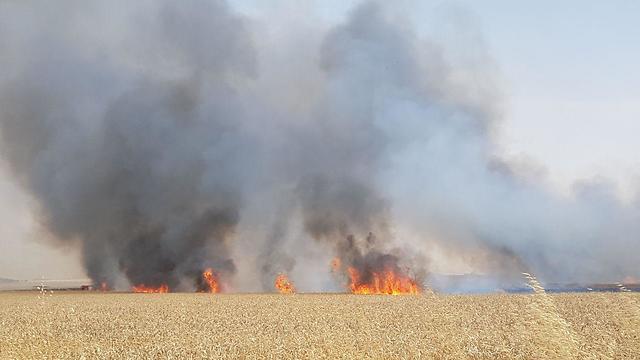 שריפה בעקבות עפיפוני תבערה ()