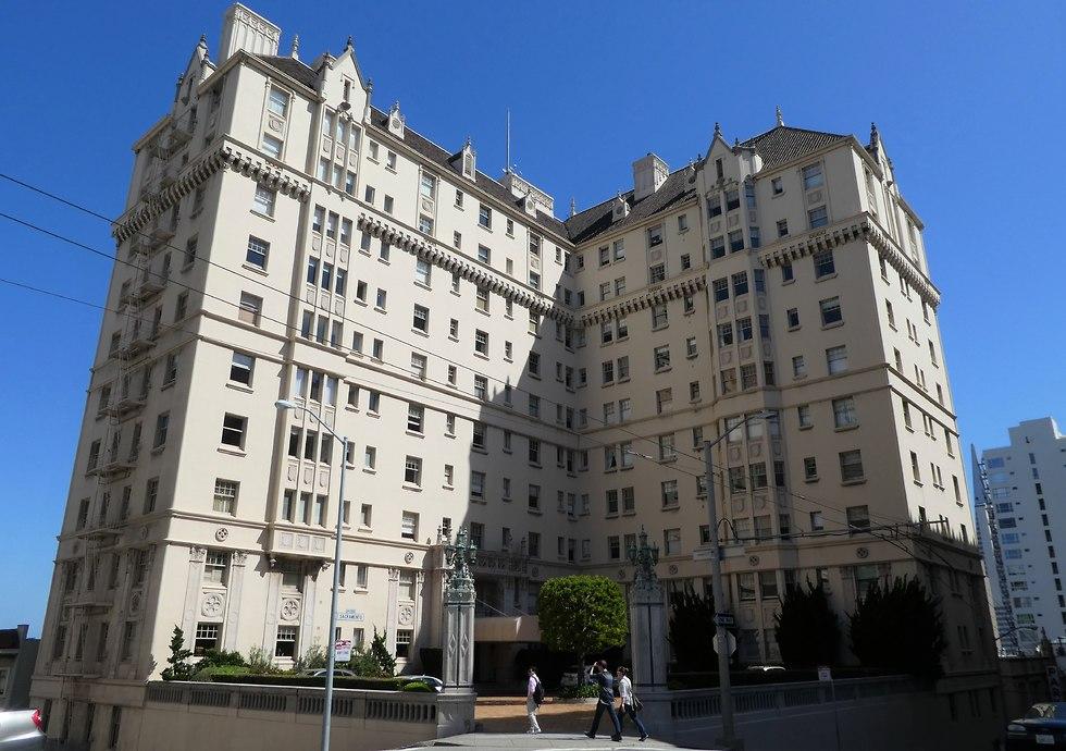 הבניין של מדלן (צילום: יסמין גיל)
