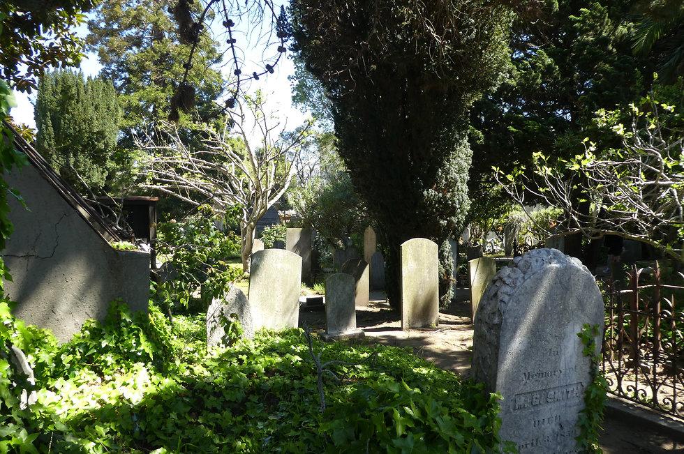 בית הקברות במיסיון דולורס (צילום: יסמין גיל)
