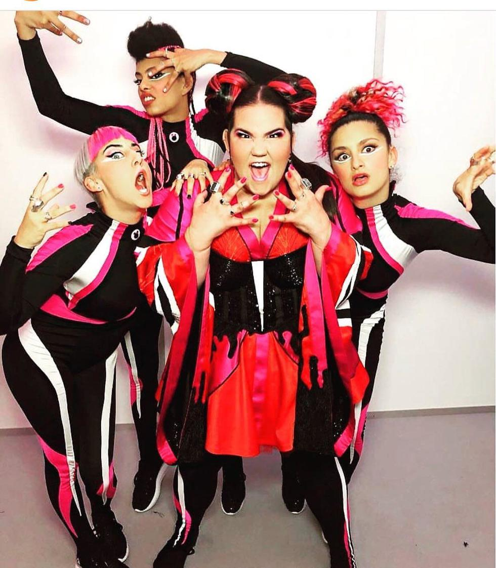 Netta and her team