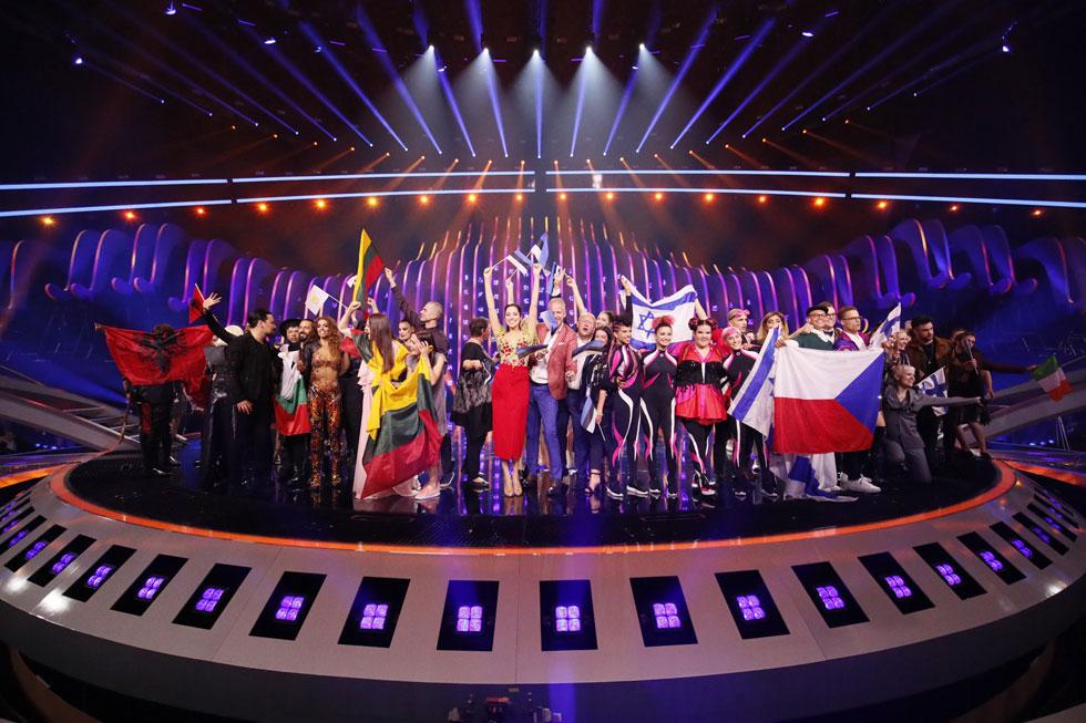 בדרך לגמר! חגיגת הזוכים בחצי הגמר  (צילום: Andres Putting)