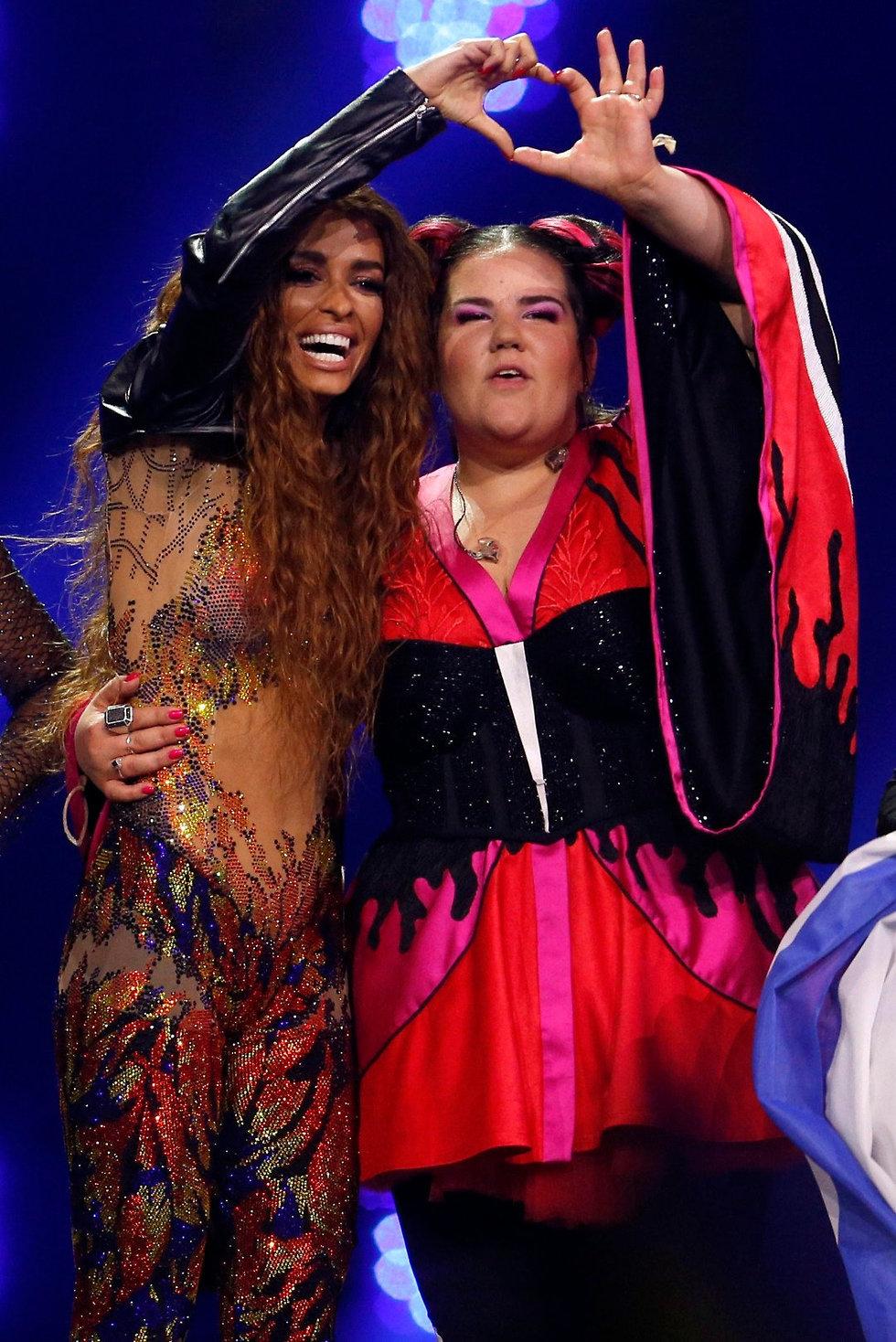 נטע ברזילי ואלני פוריירה (צילום: Reuters)